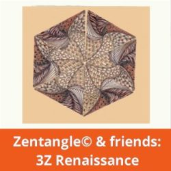 Zentangle 3Z Renaissance
